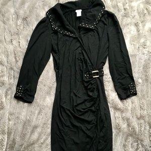 CACHE Tight Black Dress